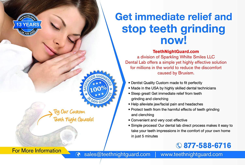 Custom Night Guard For Teeth Grinding