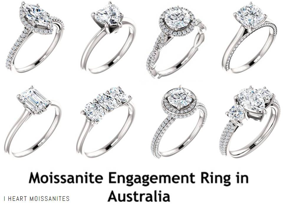 Moissanite Engagement Ring In Sydney